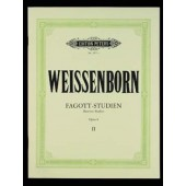 WEISSENBORN C.J. BASSOON STUDIES OP 8 VOL 2 BASSON