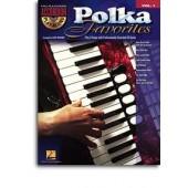 ACCORDEON PLAY ALONG VOL 01 POLKA FAVORITES