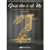 NIJS J. JUST THE 2 OF US TROMPETTES OU CORNETS OU TROMBONES OU EUPHONIUMS
