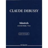 DEBUSSY C. MINSTRELS PIANO
