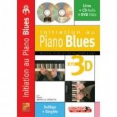 MINVIELLE-SEBASTIA P. INITIATION AU PIANO BLUES EN 3D