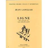 LANGLAIS J. LIGNE VIOLONCELLE