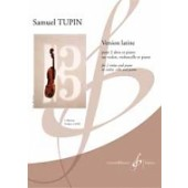 TUPIN S. VERSION LATINE 2 ALTOS (OU VIOLON, VIOLONCELLE) PIANO