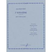 MARTINON J. 2ME SONATINE OP 19 VIOLON