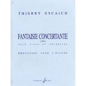 ESCAICH T. FANTAISIE CONCERTANTE PIANOS