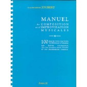 JOUBERT C.H. MANUEL DE COMPOSITION ET D'IMPROVISATION