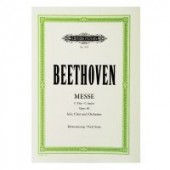 BEETHOVEN MESSE C-DUR OPUS 86 CHANT PIANO