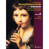 HEYENS G. BLOCKFLOTENTECHNIC VOL 2 FLUTE A BEC