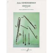 DEMERSSEMAN J. SERENADE OP 48 CLARINETTE