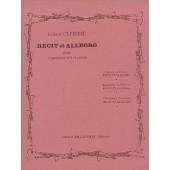 CLERISSE R. RECIT ET ALLEGRO CLARINETTE