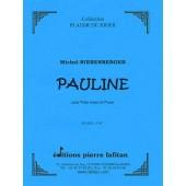NIERENBERGER M. PAULINE FLUTE A BEC