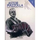 PIAZZOLLA A. TANGOS VOL 1 FOR 2 PIANOS