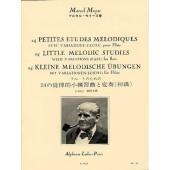 MOYSE M. 24 PETITES ETUDES MELODIQUES FLUTE