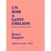 SAUGUET H. SOIR A SAINT EMILION BASSON