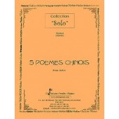 COINEL R. 5 POEMES CHINOIS VIOLON