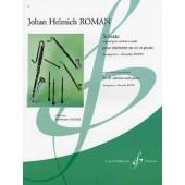 ROMAN J.H. SONATE CLARINETTE