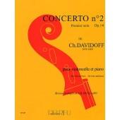 DAVIDOFF K. CONCERTO N°2 VIOLONCELLE