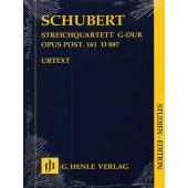 SCHUBERT F. QUATUOR A CORDES OP 161CONDUCTEUR