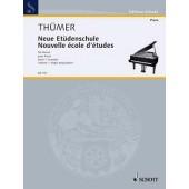 THUMER O. NOUVELLE ECOLE D'ETUDES VOL 1 PIANO