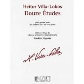 VILLA-LOBOS H. ETUDES GUITARE