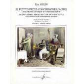 HULIN E. 21 PETITES PIECES CONCERTANTES VOL 2 COR