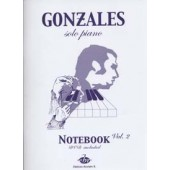 GONZALES NOTEBOOK VOL 2 PIANO