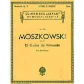 MOSZKOWSKI M. ETUDES DE VIRTUOSITE OP 72 PIANO