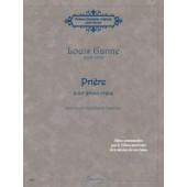 GANNE L. PRIERE POUR GRAND ORGUE