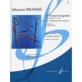 BRAHMS J. 13 DANSES HONGROISES VOL 2 FLUTES PICCOLOS