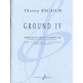 ESCAICH T. GROUND IV CLARINETTES