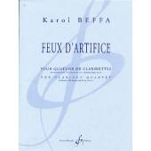 BEFFA K. FEUX D'ARTIFICE CLARINETTES