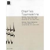 TOURNEMIRE C. PETITES FLEURS MUSICALES OP 66 ORGUE
