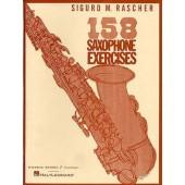RASCHER S.M. 158 SAXOPHONE EXERCISES