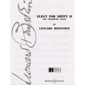 BERNSTEIN L. ELEGY FOR MIPPY II TROMBONE