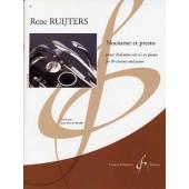 RUIJTERS R. NOCTURNE ET PRESTO CLARINETTE