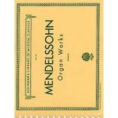 MENDELSSOHN F. OEUVRES POUR ORGUE