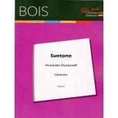 OUZOUNOFF A. SUETONE CLARINETTE