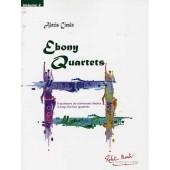CIESLA A. EBONY QUARTETS VOL 2 CLARINETTES