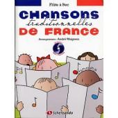 CHANSONS TRADITIONNELLES DE FRANCE FLUTE A BEC