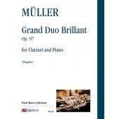 MULLER I. GRAND DUO BRILLANT OP 97 CLARINETTE