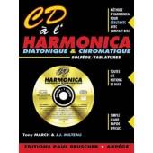 MARCH T./MILTEAU J.J CD A L'HARMONICA