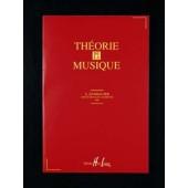 DANHAUSER A. THEORIE DE LA MUSIQUE