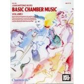 MURO J.A. BASIC CHAMBER MUSIC VOL 1 GUITARES