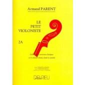 LE PETIT VIOLONISTE VOL 2A VIOLON