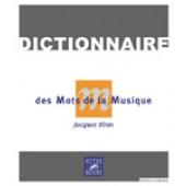 SIRON J. DICTIONNAIRE DES MOTS DE LA MUSIQUE