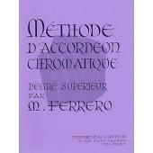 FERRERO M. METHODE ACCORDEON CHROMATIQUE 3ME CYCLE
