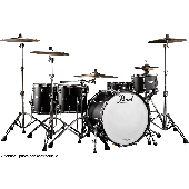 PEARL REFERENCE PURE HYPER ROCK 22 4 FUTS NOIR AC CHROME