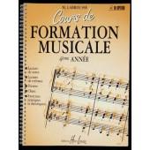 LABROUSSE M. COURS DE FORMATION MUSICALE 4ME ANNEE