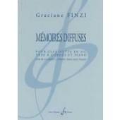 FINZI G. MEMOIRES DIFFUSES CLARINETTE TRIO A CORDES PIANO