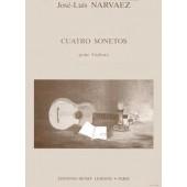 NARVAEZ J.L. CUATRO SONETOS GUITARE